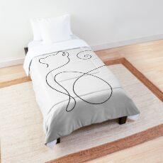 Graphic Cat Comforter