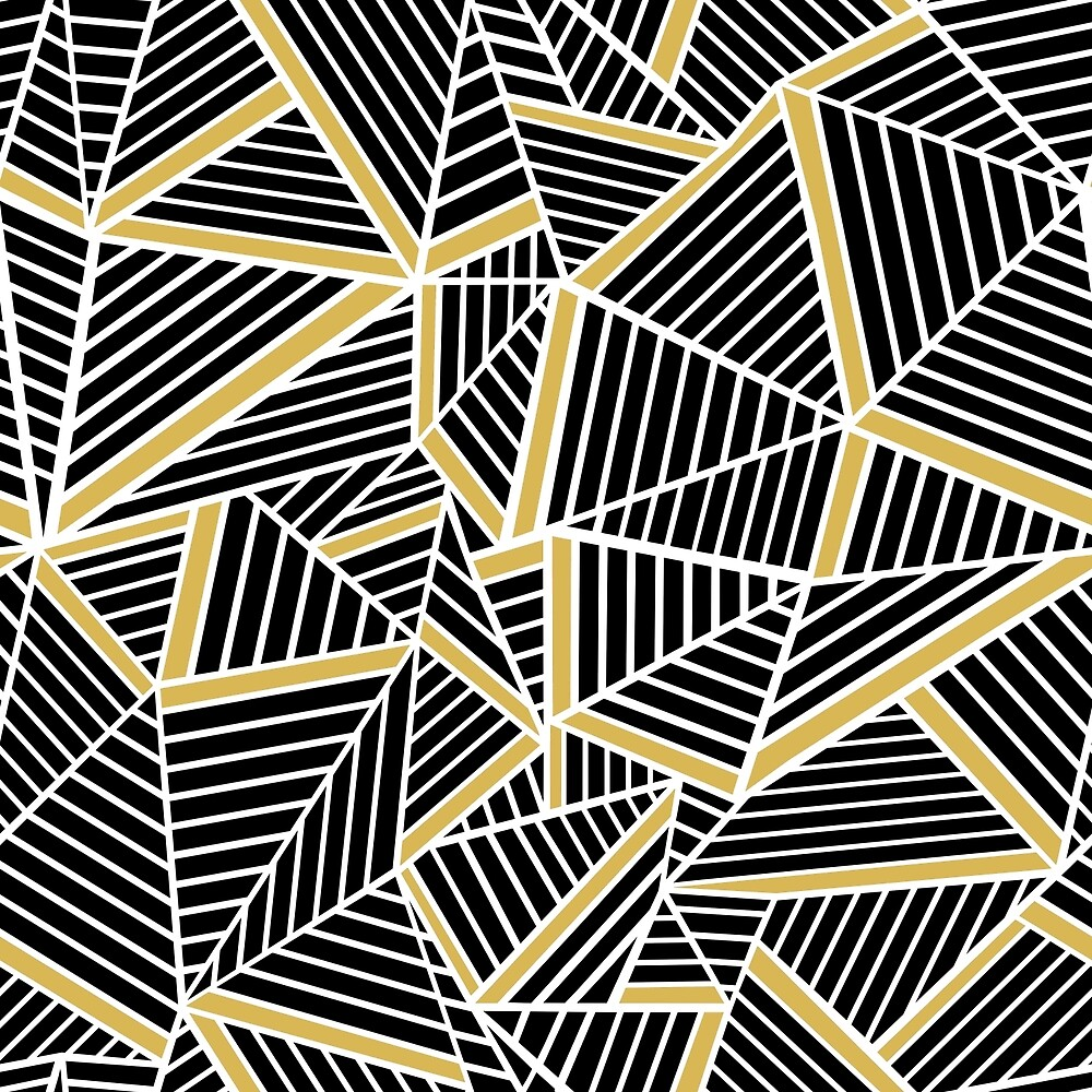 Ab Lines Black Gold Repeat by ProjectM
