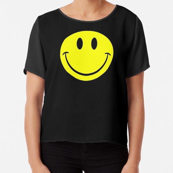 NDVH Smiley Chiffon Top