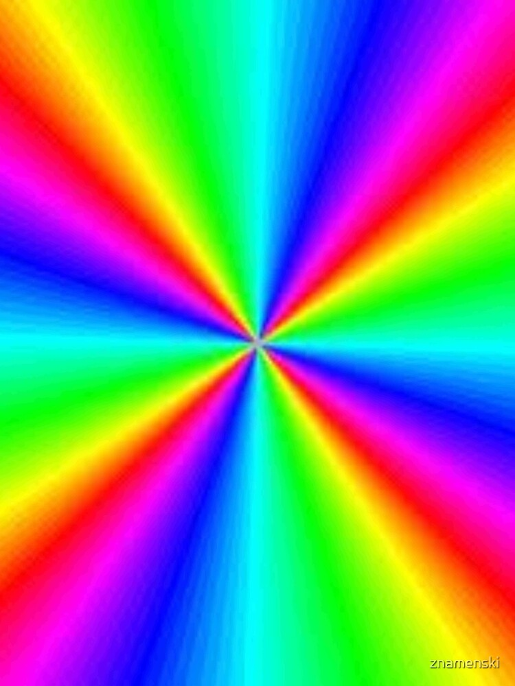 #Prism, #creativity, #bright, #rainbow, spectrum, psychedelic, futuristic, art, vortex, color image by znamenski
