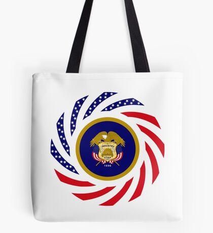 Utah Murican Patriot Flag Series Tote Bag