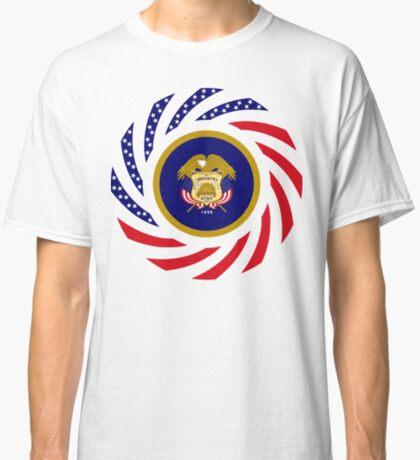 Utah Murican Patriot Flag Series Classic T-Shirt