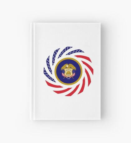 Utah Murican Patriot Flag Series Hardcover Journal