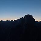 Half Dome before dawn by rakosnicek
