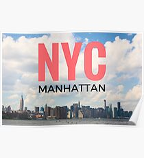 NYC Manhattan Poster