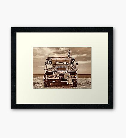 Power Wagon Framed Print