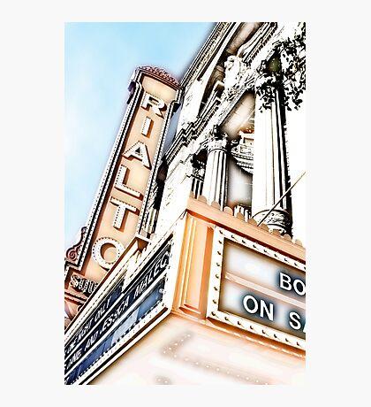 rialto square theater, joliet, illinois Photographic Print