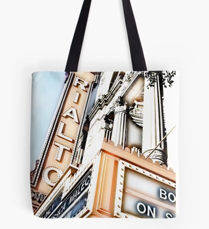 rialto square theater, joliet, illinois Tote Bag