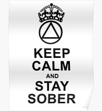 Sobriety Posters | Red...
