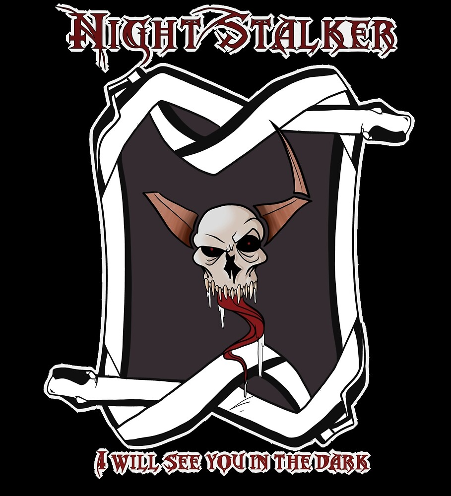 Nightstalker tarrot inspired design by Nightstalker24
