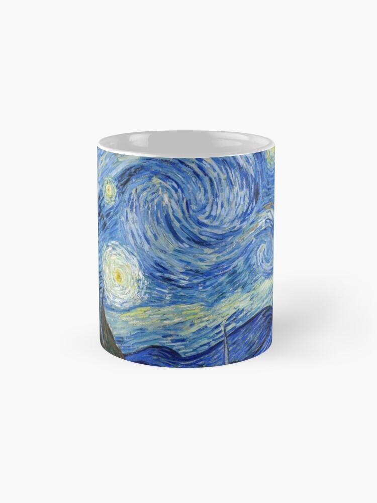 Alternate view of The Starry Night, Vincent van Gogh, 1889 | Ultra High Resolution Mug