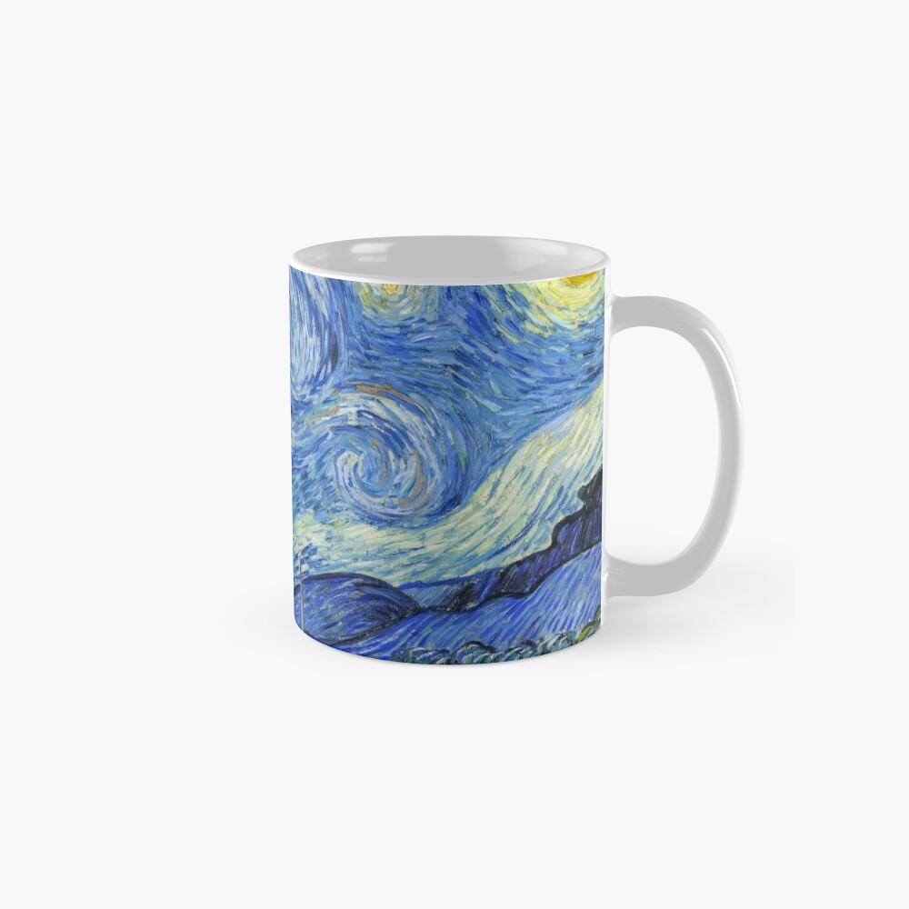 The Starry Night, Vincent van Gogh, 1889 | Ultra High Resolution Mug