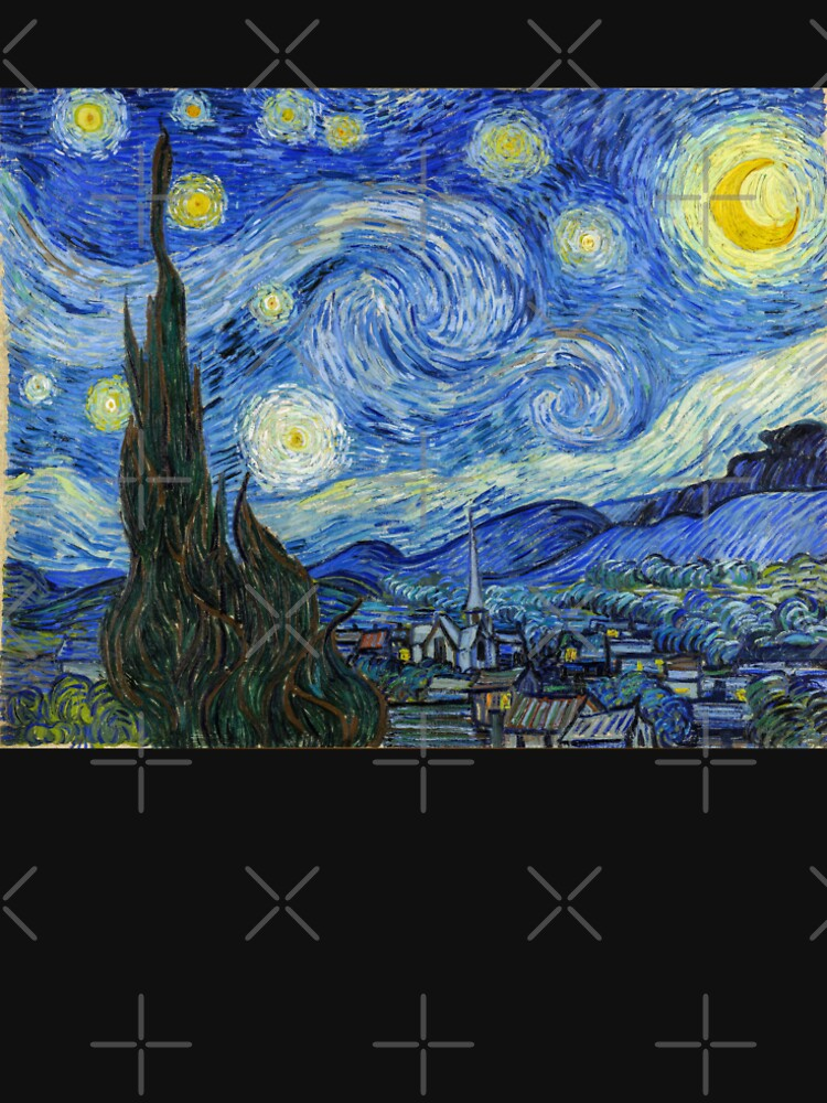 The Starry Night, Vincent van Gogh, 1889   Ultra High Resolution by boxsmash