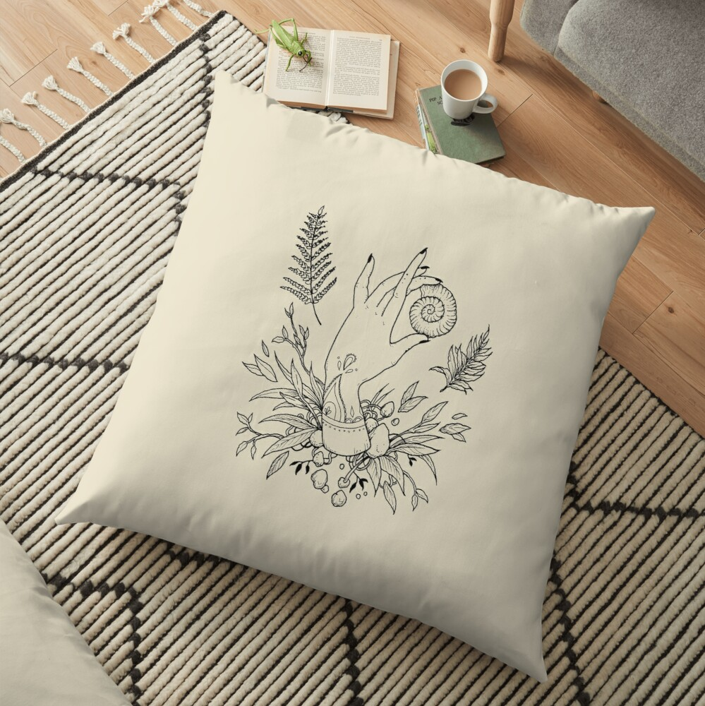 Return to the sea Floor Pillow