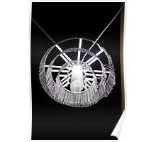 metal lamp Poster