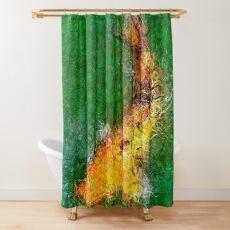 Dendrification 11 Shower Curtain