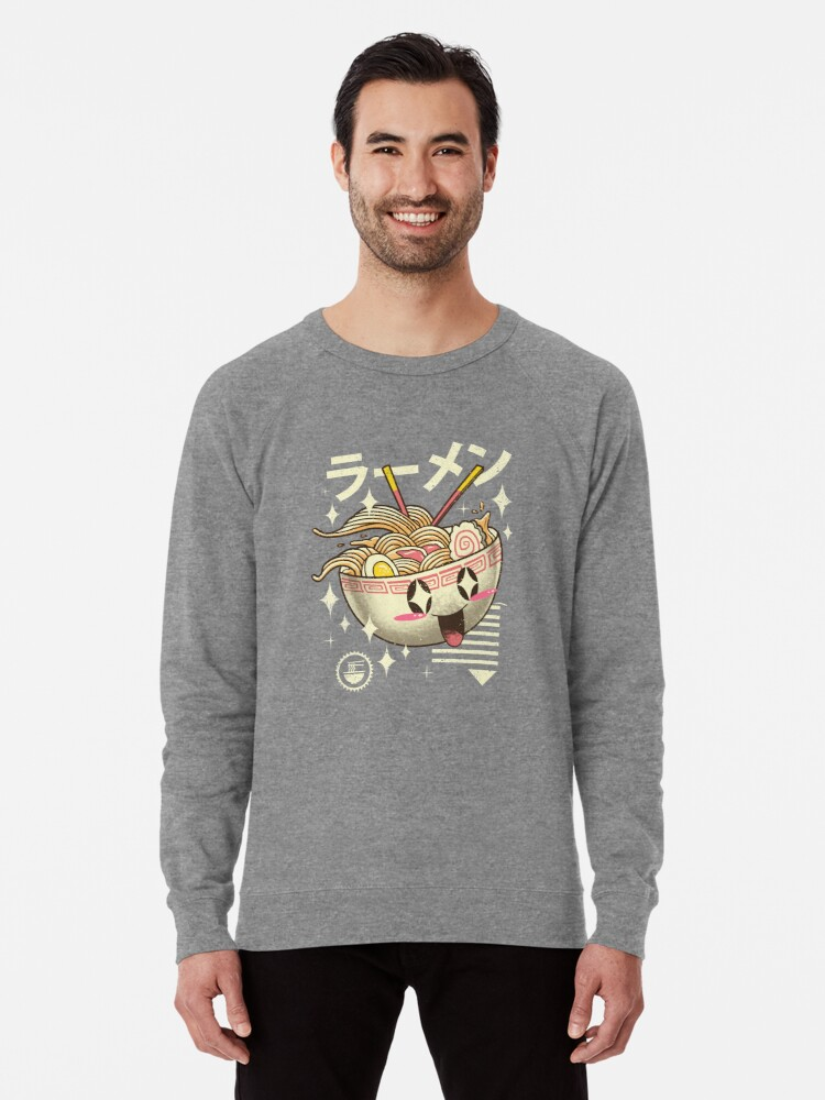 Alternate view of Kawaii Ramen Lightweight Sweatshirt