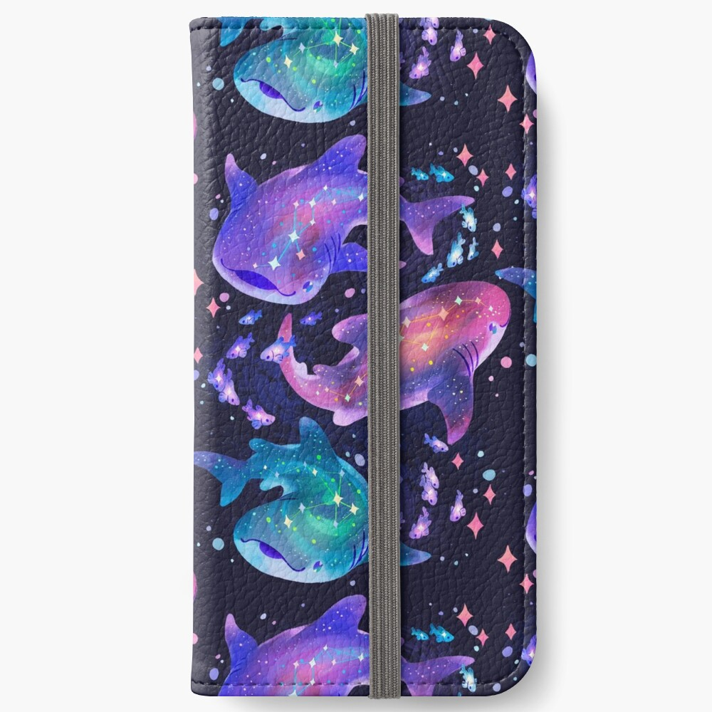 Cosmic Whale Shark iPhone Wallet
