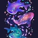 Cosmic Whale Shark by Requinoesis
