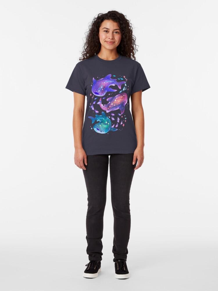 Alternate view of Cosmic Whale Shark Classic T-Shirt