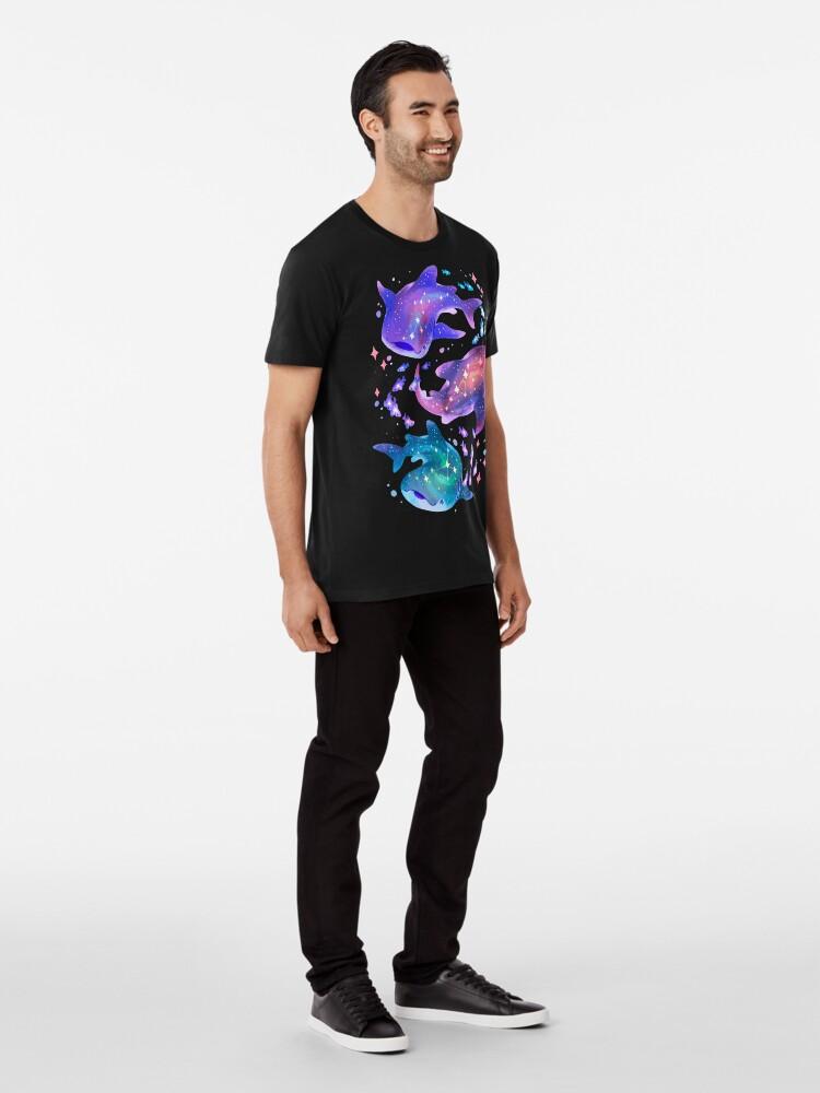 Alternate view of Cosmic Whale Shark Premium T-Shirt