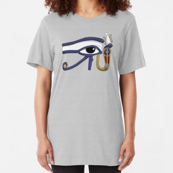 The Eye of Ra: Wedjet Upper Egypt Slim Fit T-Shirt