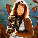 Camera Lady by Raoul Isidro