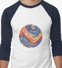 #Deepdreamed planet Baseball ¾ Sleeve T-Shirt