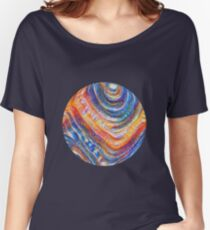 #Deepdreamed planet Relaxed Fit T-Shirt
