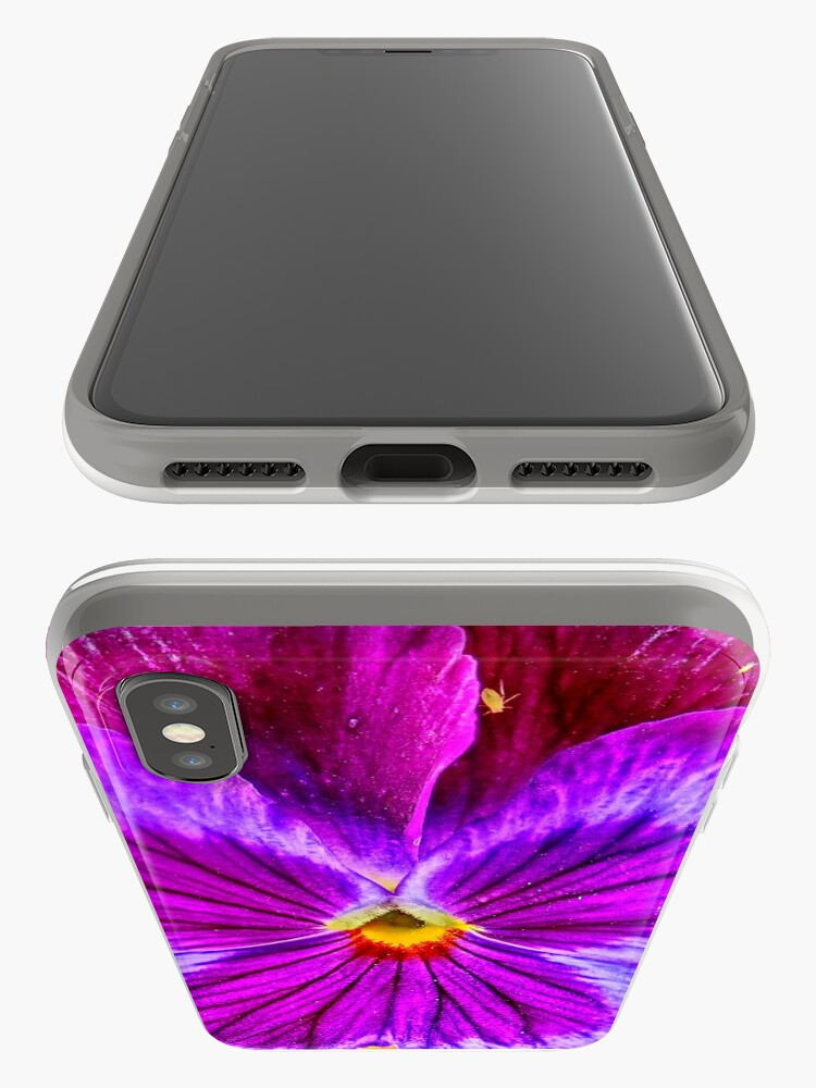 Alternate view of Kissy Viola iPhone Case & Cover