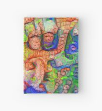 #Deepdreamed abstraction Hardcover Journal