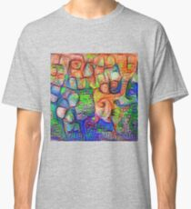 #Deepdreamed abstraction Classic T-Shirt