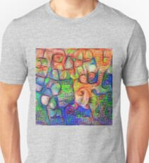 #Deepdreamed abstraction Slim Fit T-Shirt