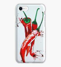Chilli vertical iPhone Case/Skin