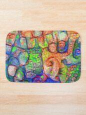 #Deepdreamed abstraction Bath Mat