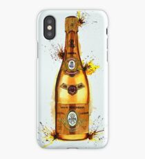 Cristal Champagne Bottle smaller iPhone Case