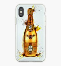 Cristal Champagne Bottle smaller iPhone Case