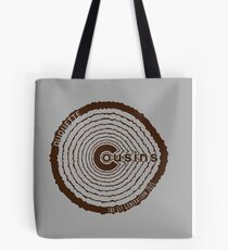 Duquette Cousins 1st Gen. Brown Tote Bag