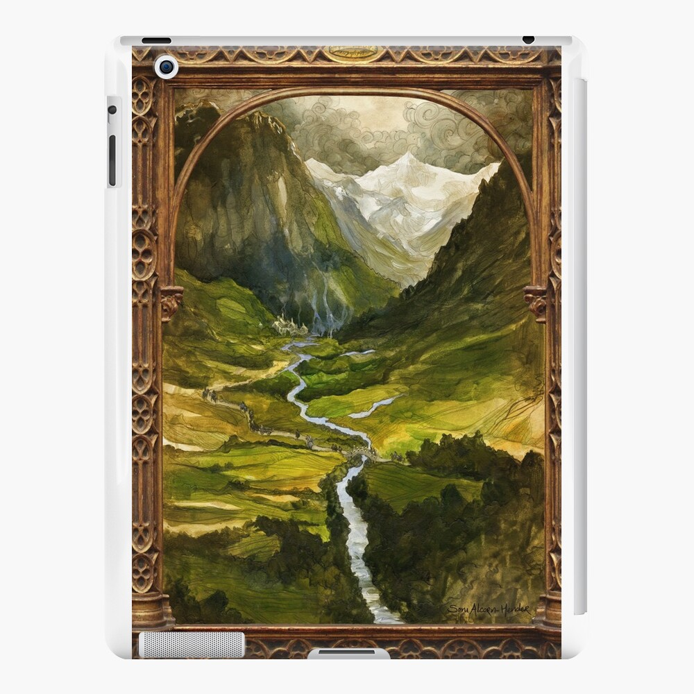 The Ring is taken to Rivendell iPad Cases & Skins
