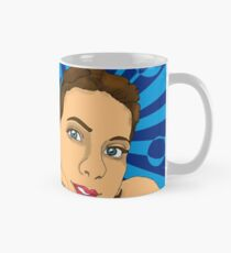 Lady with Blue Mug