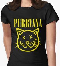 Purrvana Women's Fitted T-Shirt