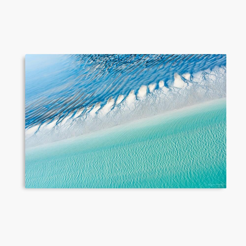 Farben von Roebuck Bay Leinwanddruck