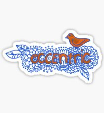 Eccentric Sticker
