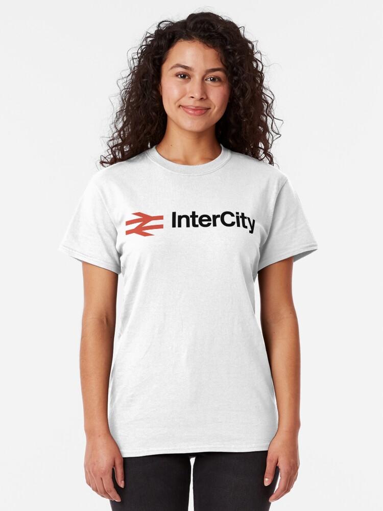 Alternate view of NDVH InterCity 1978-1987 Classic T-Shirt