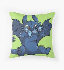 Toothless Chibi Throw Pillow