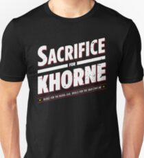 Sacrifice for Khorne - Damaged Unisex T-Shirt