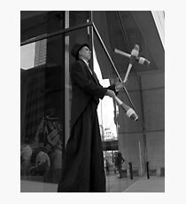 Street Juggler Photographic Print