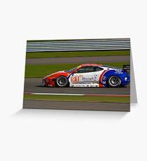 CRS Racing #91 Greeting Card