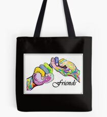 The Sign Language of FRIENDS Tote Bag