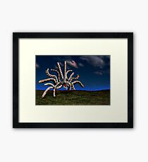 Get Off My Lawn!!! Dagnabbit! Framed Print